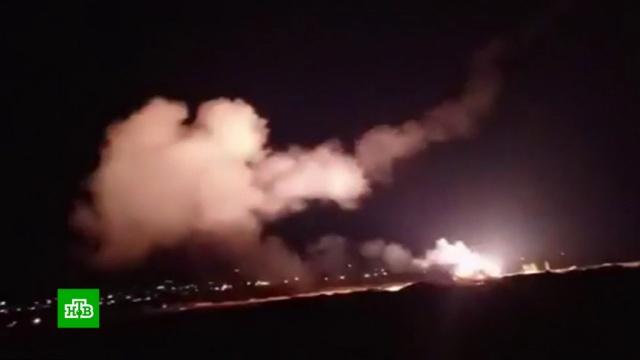 ПВО Сирии уничтожила 14из 16израильских авиабомб.Минобороны РФ, Сирия, войны и вооруженные конфликты.НТВ.Ru: новости, видео, программы телеканала НТВ