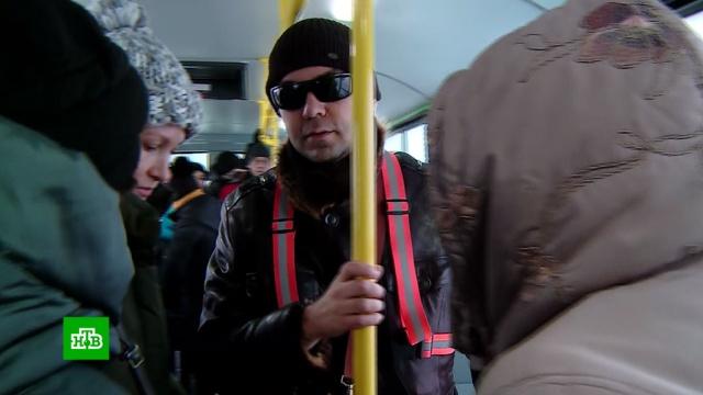 ВЕкатеринбурге слепого снова выгнали из автобуса из-за «безбилетной» собаки-поводыря.скандалы, животные, Екатеринбург, собаки, автобусы, слепые, инвалиды, общественный транспорт.НТВ.Ru: новости, видео, программы телеканала НТВ