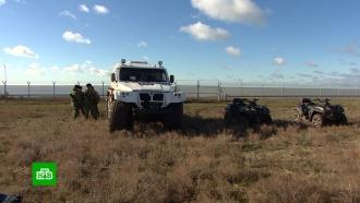 Стена скамерами идатчиками: как Крым защищает границу сУкраиной