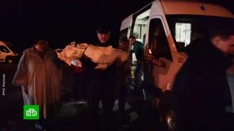 Найденного под завалами дома вМагнитогорске ребенка доставили вМоскву