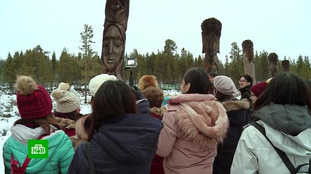 Иностранные туристы спешат на русский север за новыми впечатлениями.Мурманская область, туризм и путешествия.НТВ.Ru: новости, видео, программы телеканала НТВ