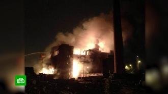 ВХМАО потушили крупный пожар на нефтяном месторождении