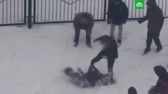 Полиция изучает видео избиения школьника в<nobr>Ростове-на-Дону</nobr>