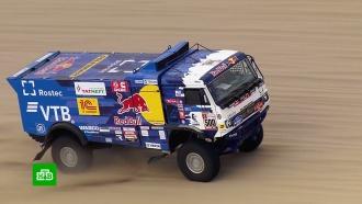 Экипаж Николаева победил на втором этапе ралли «Дакар»