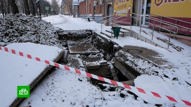 В Челябинске в дома вернули отопление после крупной коммунальной аварии.аварии в ЖКХ, зима, морозы.НТВ.Ru: новости, видео, программы телеканала НТВ