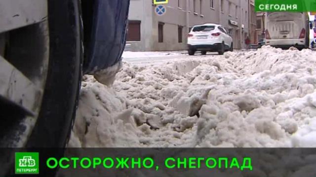 Петербуржцы жалуются на плохую уборку города от снега.ЖКХ, Санкт-Петербург, погода, снег.НТВ.Ru: новости, видео, программы телеканала НТВ