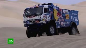 Экипаж Каргинова победил на третьем этапе ралли «Дакар»