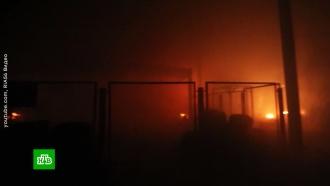 Пожар на заводе вОренбуржье полностью ликвидирован