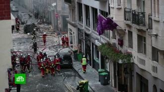 Взрыв в парижской булочной прогремел во время устранения газовой утечки