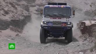 Экипаж Николаева из <nobr>«КамАЗ-мастер»</nobr> победил на пятом этапе ралли «Дакар»