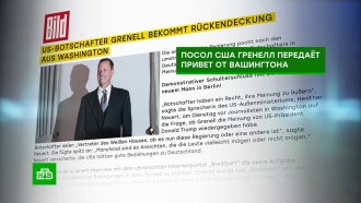 ВГермании отреагировали на шантаж США <nobr>из-за</nobr> «Северного потока— 2»
