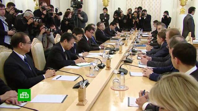 Завершился первый раунд переговоров о подписании мирного договора с Японией.Лавров, Япония, переговоры, дипломатия.НТВ.Ru: новости, видео, программы телеканала НТВ