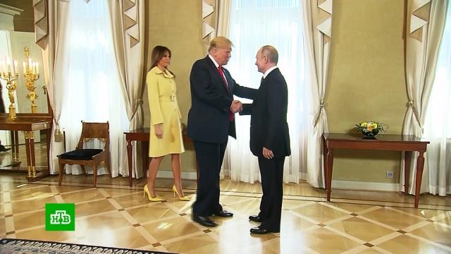 ВКонгрессе США намерены допросить переводчиков со встреч Путина иТрампа.Путин, Трамп Дональд.НТВ.Ru: новости, видео, программы телеканала НТВ