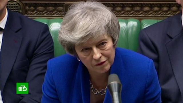 Развод Великобритании и Евросоюза обернулся скандалом и политическим кризисом.В Великобритании решается судьба правительства Терезы Мэй. Накануне она потерпела сокрушительное поражение в парламенте: депутаты отвергли ее план по Brexit, согласованный с Брюсселем. Отмахнувшись от намtков прессы, что в такой ситуации политик должен подавать в отставку, премьер-министр пообещала в понедельник представить новый план действий по выходу из Евросоюза. Однако возникла угроза, что ее кабинет не доживет до понедельника. Лейбористы запустили в палате общин процедуру голосования о вотуме недоверия правительству..Великобритания, Европейский союз, СМИ, Тереза Мэй.НТВ.Ru: новости, видео, программы телеканала НТВ