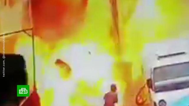США подтвердили гибель 4 военных при теракте в Сирии.При взрыве в ресторане в сирийском городе Манбидже погибли четверо американских военных. Еще трое получили ранения.войны и вооруженные конфликты, Сирия, США.НТВ.Ru: новости, видео, программы телеканала НТВ