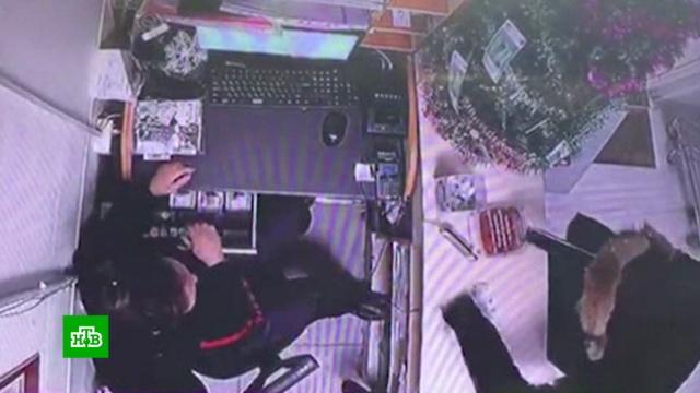 В Якутии оставшийся без работы педагог взял обрез и ограбил магазин.В Якутске против бывшего педагога, пытавшегося с оружием в руках ограбить магазин, завели уголовное дело по статье «Разбой».кражи и ограбления.НТВ.Ru: новости, видео, программы телеканала НТВ