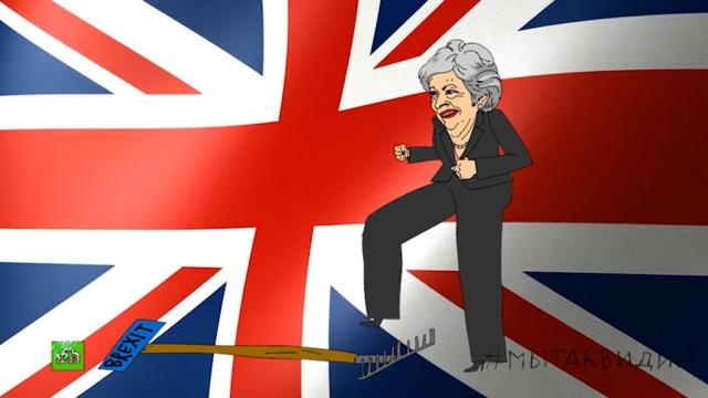 Brexit не вытанцовывается: парламент отверг план Терезы Мэй.НТВ.Ru: новости, видео, программы телеканала НТВ