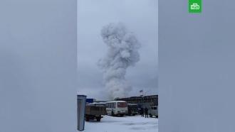 Взрыв прогремел на заводе в Ленобласти