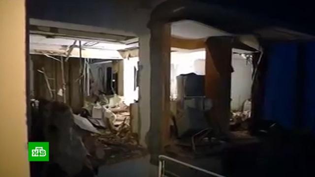 Врезультате взрыва газа вжилом доме вТбилиси погибли 4человека.Грузия, взрывы газа.НТВ.Ru: новости, видео, программы телеканала НТВ