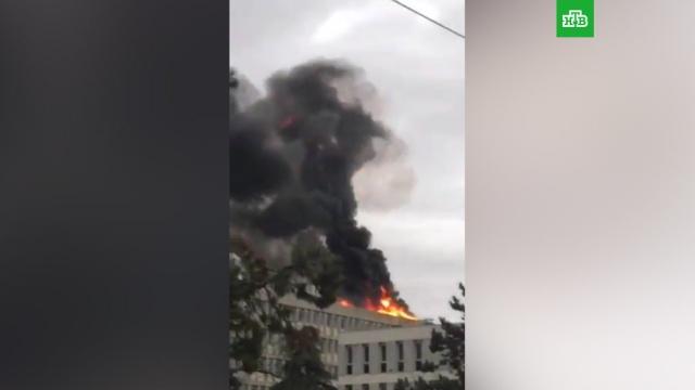 Взрыв встуденческом городке французского Лиона.Франция, взрывы, вузы.НТВ.Ru: новости, видео, программы телеканала НТВ