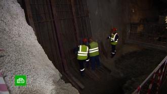 Завершена прокладка железнодорожного туннеля на подходах кКрымскому мосту