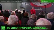 «На рубеже памяти»: прорыву блокады Ленинграда посвятили торжественно-траурную акцию в музее-диораме