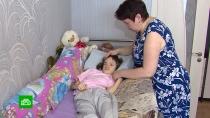 Пережившей ДТП и кому Марине нужны средства на спасительную операцию.В жизни 11-летней Марины из Ростова-на-Дону однажды уже случилось чудо — несколько лет назад у девочки появилась приемная любящая семья, но все изменила страшная автомобильная авария, после которой Марина не может ни говорить, ни ходить. Врачи одной из московских клиник готовы создать для девочки внутренний эндоскелет, но на операцию нужно чуть больше двух миллионов рублей. Для многодетной семьи это неподъемная сумма.SOS, благотворительность, дети и подростки.НТВ.Ru: новости, видео, программы телеканала НТВ