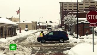Снегопады, ливни, грозы и торнадо: США оказались во власти небывалой непогоды
