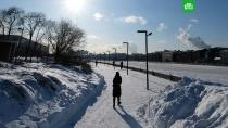 На Москву надвигаются аномальные морозы.В Москве и Московской области начнут усиливаться морозы, которые достигнут своего пика в начале следующей недели. .зима, морозы, Москва, погода.НТВ.Ru: новости, видео, программы телеканала НТВ