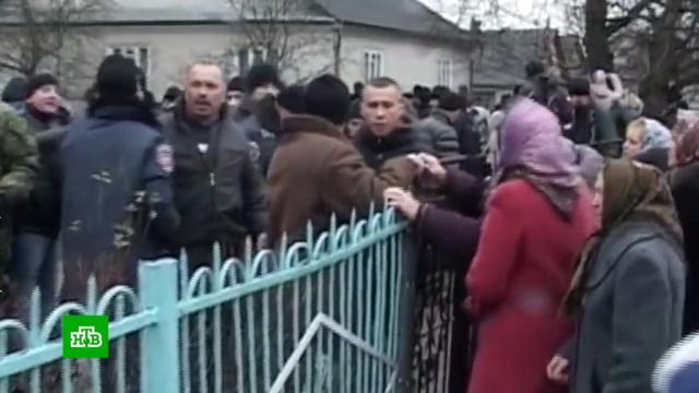 Захват приходов грозит Украине религиозной войной.Украина, православие, религия.НТВ.Ru: новости, видео, программы телеканала НТВ