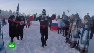 Итальянец преодолел марафонскую дистанцию в Якутии при минус 52
