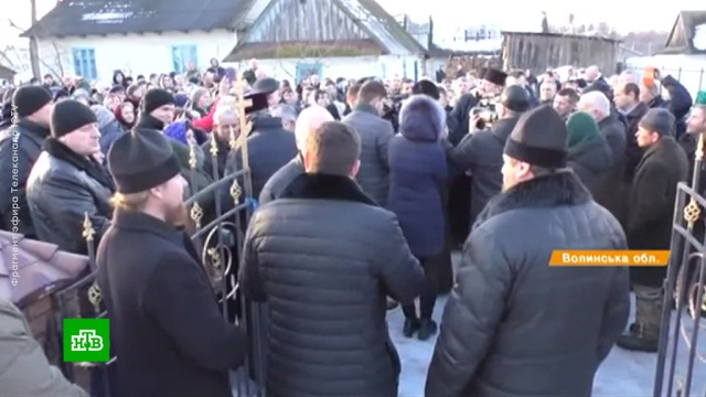 На Западной Украине раскольники вновь атаковали церковь.Украина, православие, религия.НТВ.Ru: новости, видео, программы телеканала НТВ
