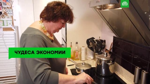 Бережливая британка учит питаться за 1фунт вдень.Великобритания, еда, ЗаМинуту.НТВ.Ru: новости, видео, программы телеканала НТВ