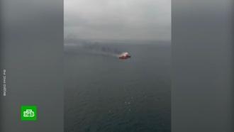 Поисковую операцию вЧёрном море приостановили до утра