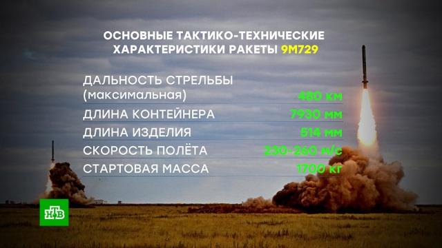 Минобороны РФ раскрыло характеристики ракеты 9М729.вооружение, дипломатия, ракеты, США, ядерное оружие.НТВ.Ru: новости, видео, программы телеканала НТВ