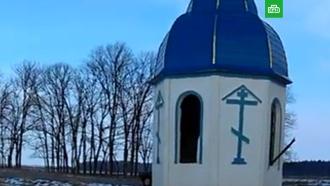 На Украине вандалы осквернили православную часовню