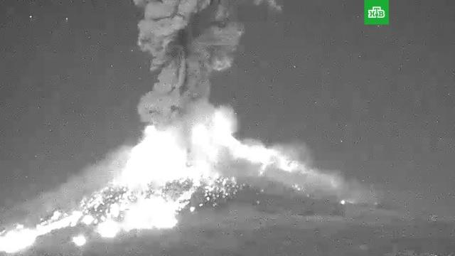 Взрыв вулкана в Мексике.Мексика, вулканы.НТВ.Ru: новости, видео, программы телеканала НТВ