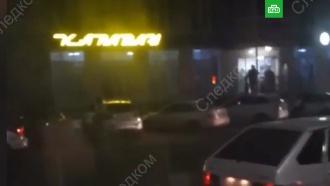Нападение на полицейских вНальчике попало на видео