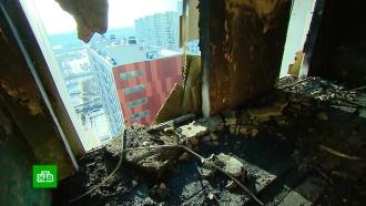 Следователи отправили на экспертизу газовые баллоны после пожара в Балашихе