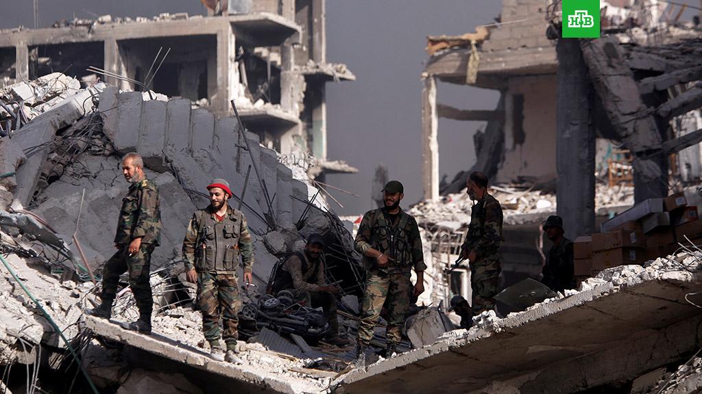 Международная коалиция нанесла авиаудар по сирийской армии