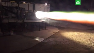 Илон Маск показал видео испытаний двигателя для межпланетного Starship