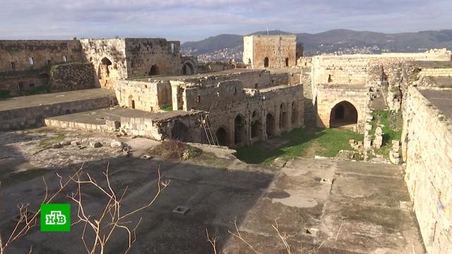 В древнем замке в Сирии обнаружили тайную комнату.Сирия, архитектура.НТВ.Ru: новости, видео, программы телеканала НТВ
