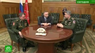 Военные готовы помочь очистить Петербург от снега