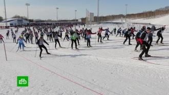 На Камчатке стартовала гонка «Лыжня России»