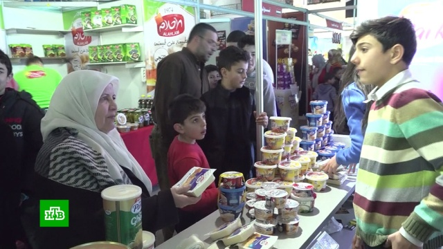 ВДамаске прошел торговый фестиваль.Сирия, торговля, ярмарки и рынки.НТВ.Ru: новости, видео, программы телеканала НТВ