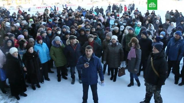 Жители задыхающегося Сибая записали видеообращение кПутину.Башкирия, загрязнение окружающей среды, экология.НТВ.Ru: новости, видео, программы телеканала НТВ