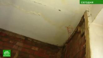 Тазики, ванночки инатяжные потолки: как петербуржцы борются сзимними протечками