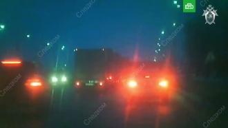 СК опубликовал видео погони на трассе М-7