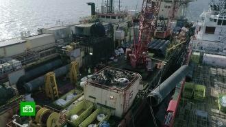«Северный поток— 2» строят со скоростью 6км вдень