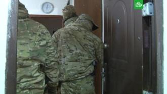 Появилось видео задержания членов террористической организации в Крыму